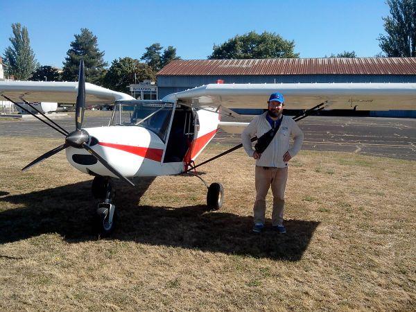 Le G1 et Régan à l'aérodrome de Montluçon Domérat