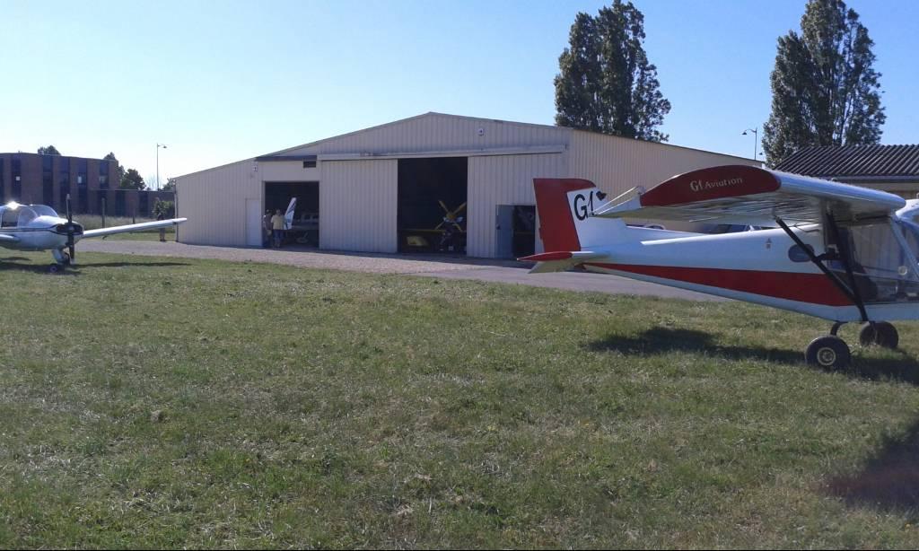 Le hangar de Bourges